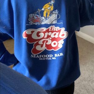 Vintage The Crab Pot Seafood Iconic Waterfront